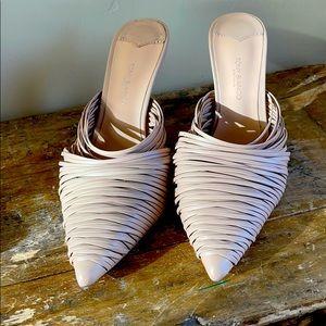 Tony Bianco (soft pinkish) Tan Slip Ons Size 7.5